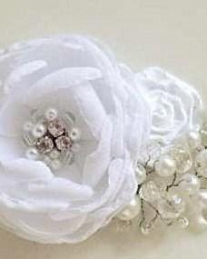 Tocados Novias Con Flores De Raso