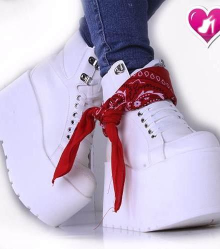 Zapatilla Borcego Botita Sneaker Mod Pandora De Shoes Bayres