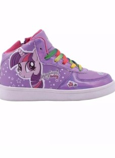 Zapatillas Botitas Footy My Little Pony Con Luces