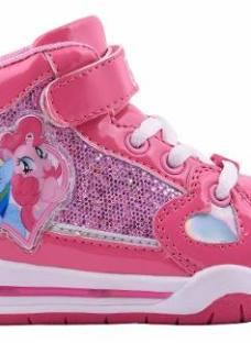 Zapatillas Botitas Pequeño Little Pony Con Luces Footy