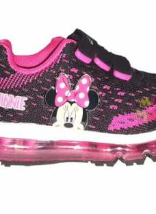 Zapatillas Disney Minnie Addnice Tejida Luces Mundo Manias