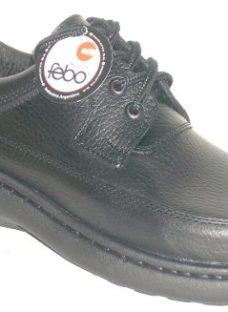 Zapatos Cuero Vacuno Super Confort Suela Febo Cosida