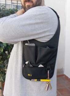 Bolso Tactico Sobaquero Porta Gadget