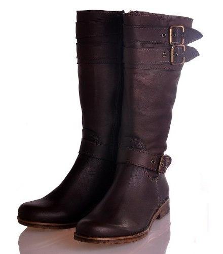 Botas Mujer Media Caña Zapatos Bota Montar Almacen De Cueros