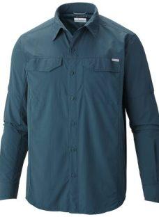 Camisa Columbia Silver Ridge Manga Larga Convertible Hombre