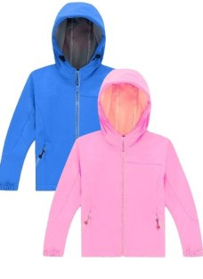 Campera Niños Softshell Impermeable Talles 4 Al 14 Jeans710