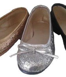 Chatitas Ballerinas Nena Brillo Glitter. Fabricantes