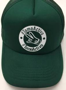 Gorras Bs10 #tamoactivo Original Verde Red