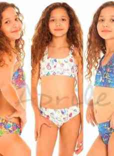 Mallas Bikinis Heracles Nenas Natacion Talles 4 Al 16
