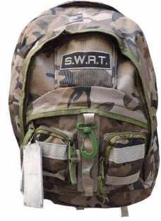 Mochila Tactica Camuflada Swat Colegio  Militar Policia