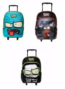Mochila Zombie Infection 17 Pulgadas Con Carro T17bcd Lelab