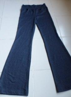 Pantalones Oxford Tela Jean Elastizada