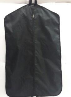 Porta Traje Funda Tela Cordura Negra Con Porta Zapato