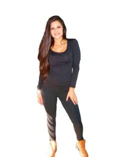 Remera Basica De Mujer· X 5 Si Si X 5···· De Modal Con Lycra
