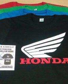 Remera Honda Yamaha Suzuki Kawasaki Moto Motocross Gp