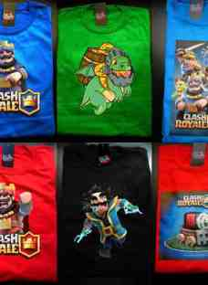 Remeras Clash Royale Todos! Ver Fotos! *mr Korneforos*