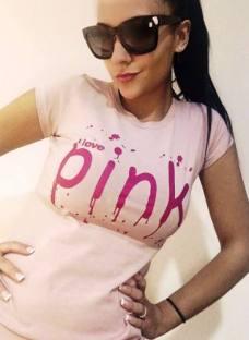 Remeras Pink Victoria Secret Estampadas Mujer Coleccion 2017