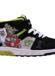 Zapatillas Botitas Plantas Vs. Zombies Con Luces Orig. Footy