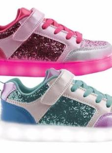 Zapatillas Luz Led Glitter Footy Nena 30-38 Children's