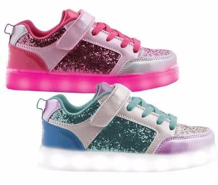 Zapatillas Luz Led Glitter Footy Nena 30-38 Children's