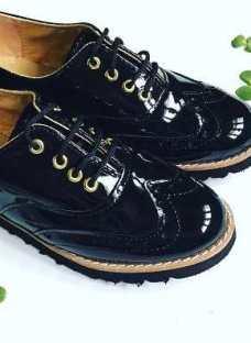 Zapato Con Coordones Otoño Invierno 17