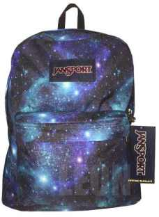 Mochila Jansport Superbreak Galaxy 25l Galaxia Original