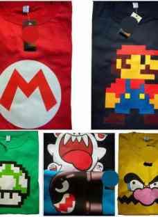 Remeras Super Mario Bros Nintendo 64 Luigi Wario Yoshi Vg