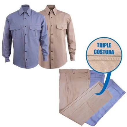 Pantalon O Camisa De Trabajo Tipo Grafa 1*cal *fabrica