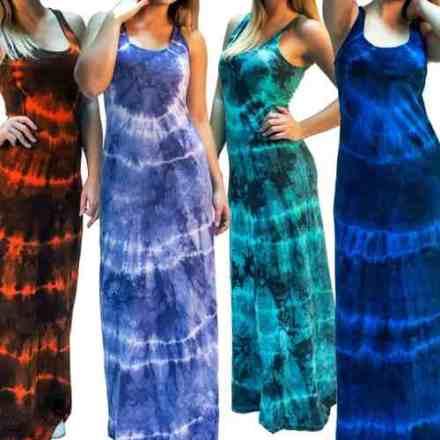 Vestido Musculosa Maxi Batik En 8 Colores