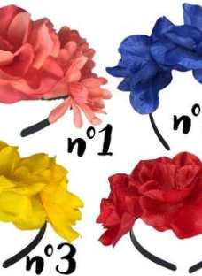 Vinchas Flores