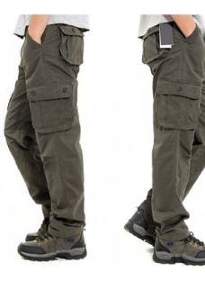 Pack X2u Pantalon Hombre Cargo Reforzado Hard Work War Ffaa