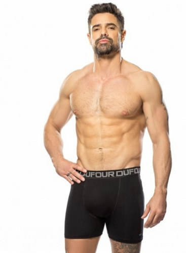 Pack X6 Dufour Boxer Algodon Y Lycra Elastico A.12058 S/xxl