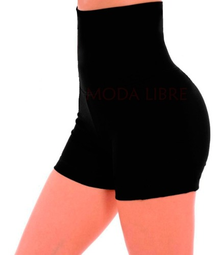 Shorts Modelador Faja 22cm 100% Lycra Mujer Standar Xs- Xxl
