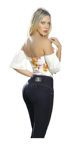 Jeans Levanta Cola Celeste Calce Perfecto Casi Bruja!!!