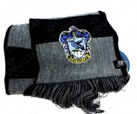 Bufanda Ravenclaw Rayada Harry Potter Oficial