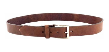 Cinturon Hombre Cuero Briganti Suela Sport Premium Acc08238
