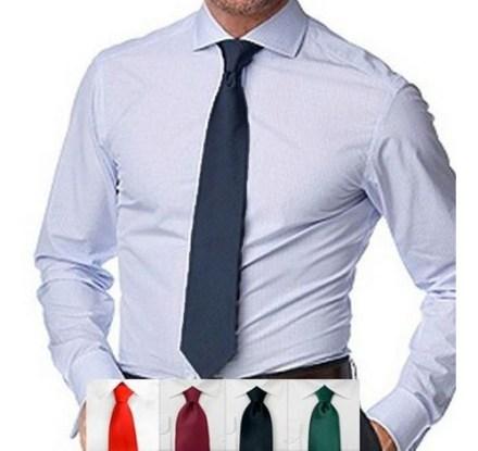 Corbata Lisa Clasica Varios Colores Ideal P Uniformes