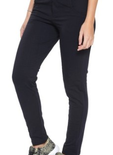 Pantalon Vandalia Rustico Deportivo Achupinado Mujer Negro