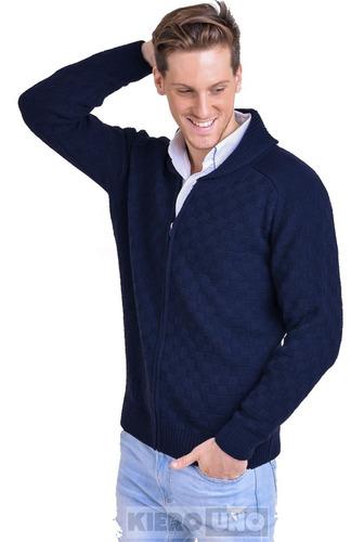 Campera De Lana Sweater Hombre Pullover Cierre Saco Kierouno