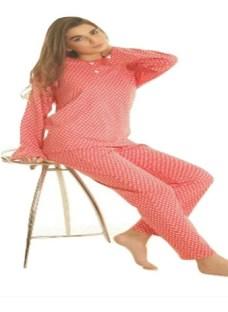 Pijama Mujer De Invierno Yacard Con Cartera Abrigado