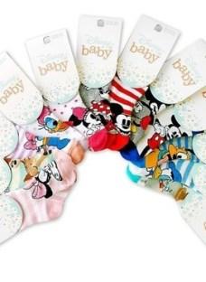 Medias Elemento Estampa Disney Baby Por Docena