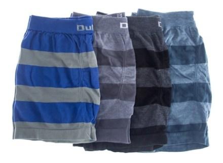 Pack De 6 Boxers Dufour Original De Hombre Rayados Sin Costuras Descuentos Por Cantidad Tienda Rupless Colores Surtidos