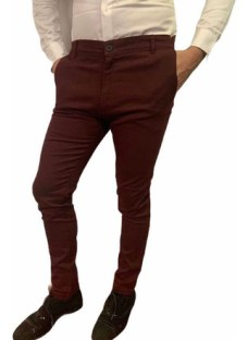 Pantalon Chupin Corte Chino De Gabardina Muy Lindos Colores