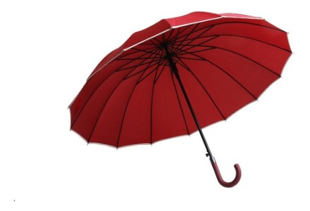 Paraguas Largo Grande Reforzado Varillas Unisex