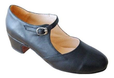 Zapato Para Tap Estudio Con Chapas - Americano -danza-cuero