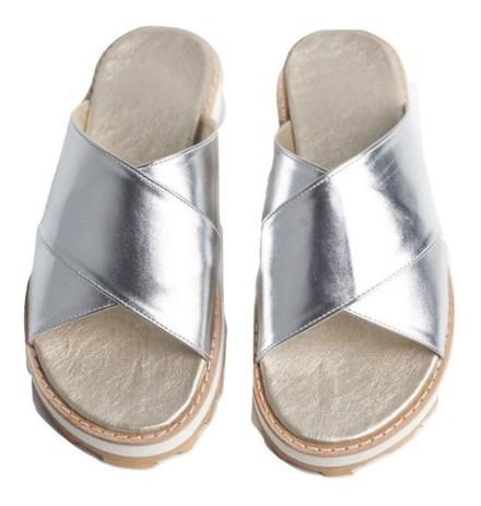 Sandalias Zapatos Mujer Chatas Ojotas Urbana Liviana - Cruz