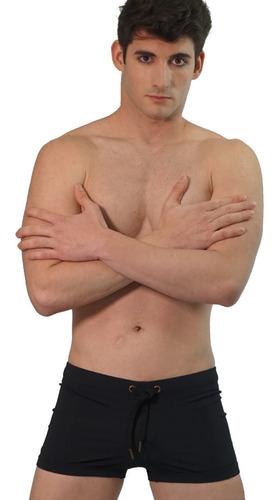 Short De Baño Básico Ceñido De Natación Resistente Al Cloro