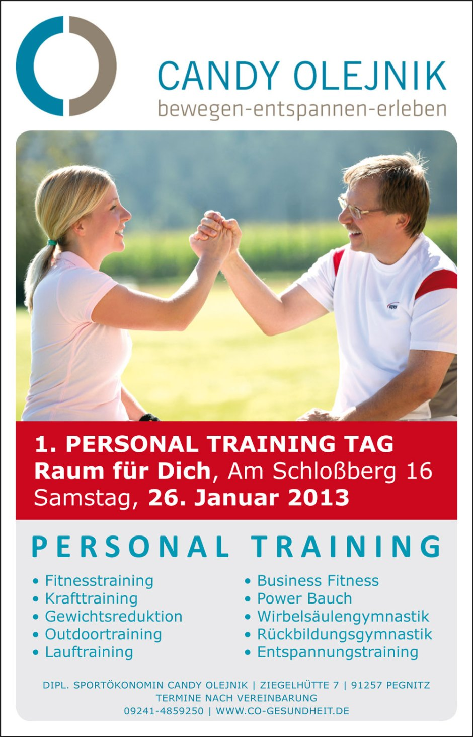 1. Personal Training Tag in Pegnitz