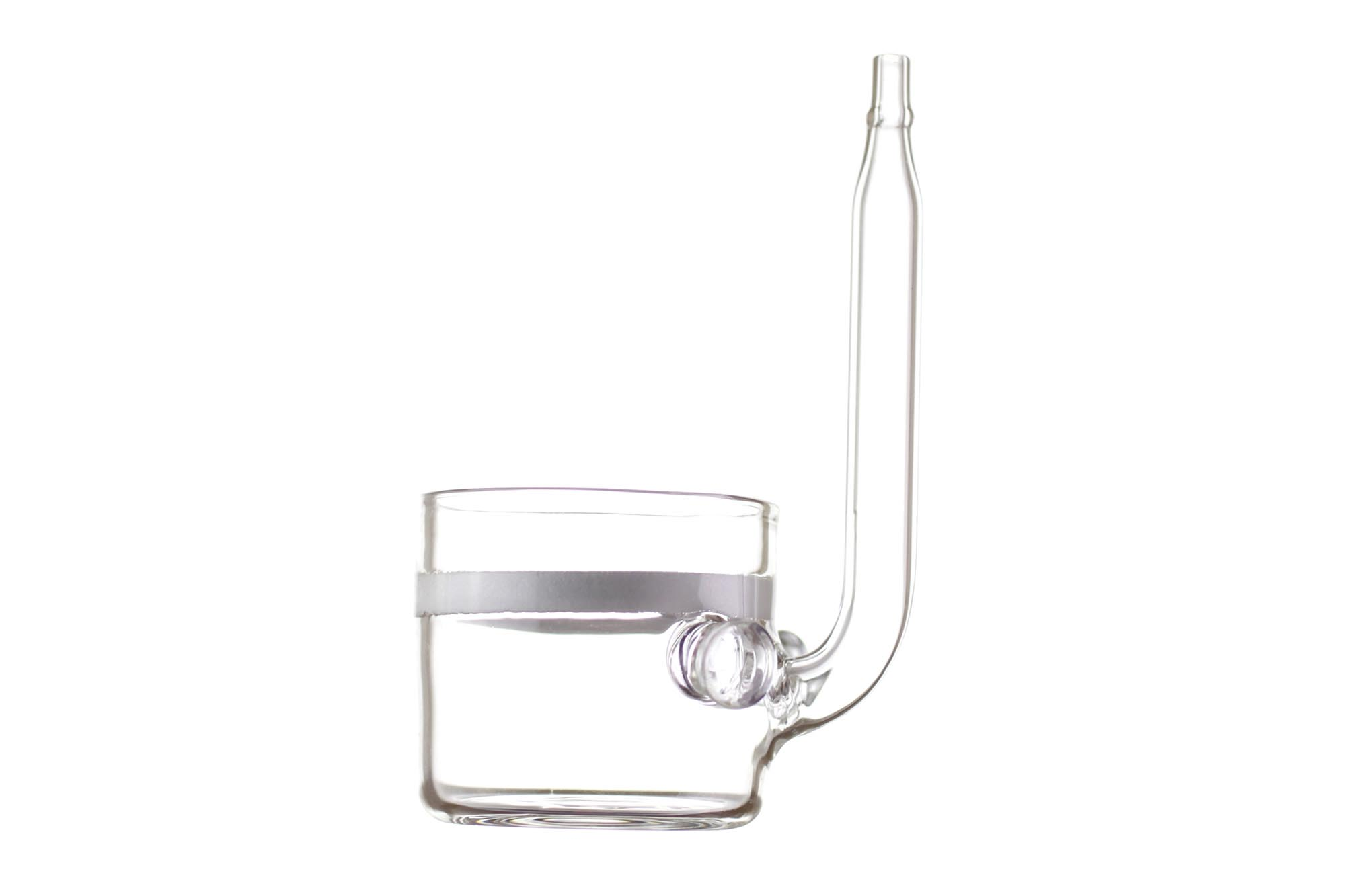 Flat Bottom Glas Co2 Diffusor