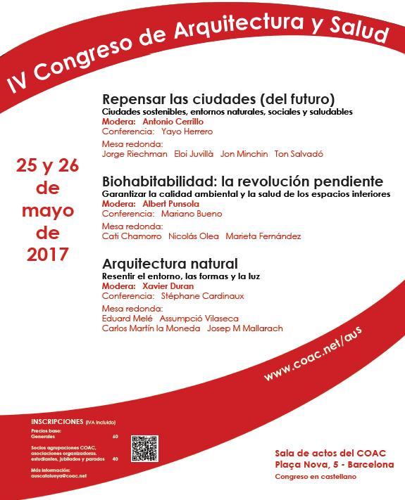 IV congreso arquitectura y salud
